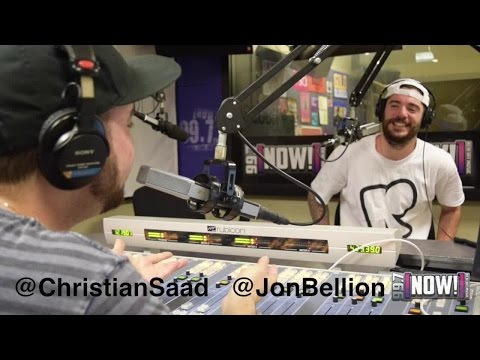 "Jon Bellion ""The Human Condition"" Tour Interview in San Francisco with Christian"