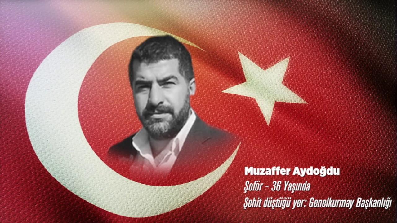 15 Temmuz Şehidi Muzaffer Aydoğdu