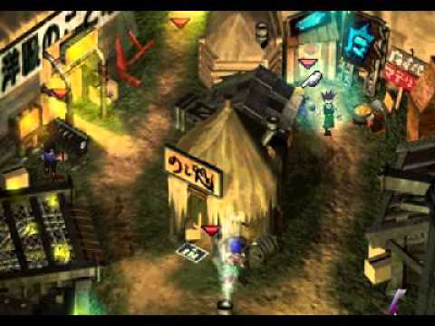 Final Fantasy VII walkthrough part 4 (ff7) Sector 5 slums (long game play)