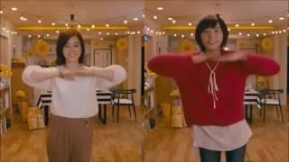 新垣結衣 赤い糸 background music + 逃げるは恥だが役に立つ drama dance.