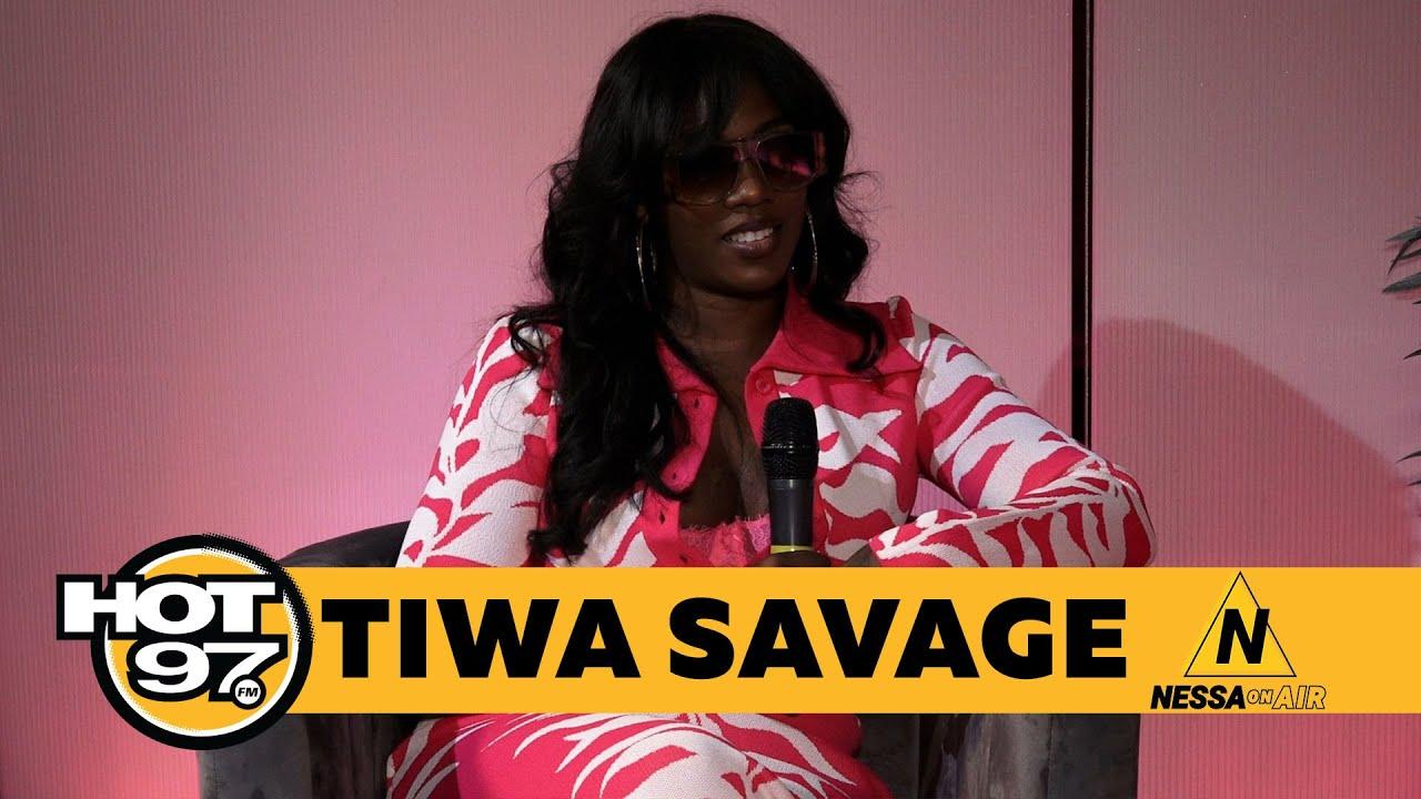Download Tiwa Savage Explains her EP Water & Garri, Stalking Brandy,  & Embarrassing herself in front of Nas