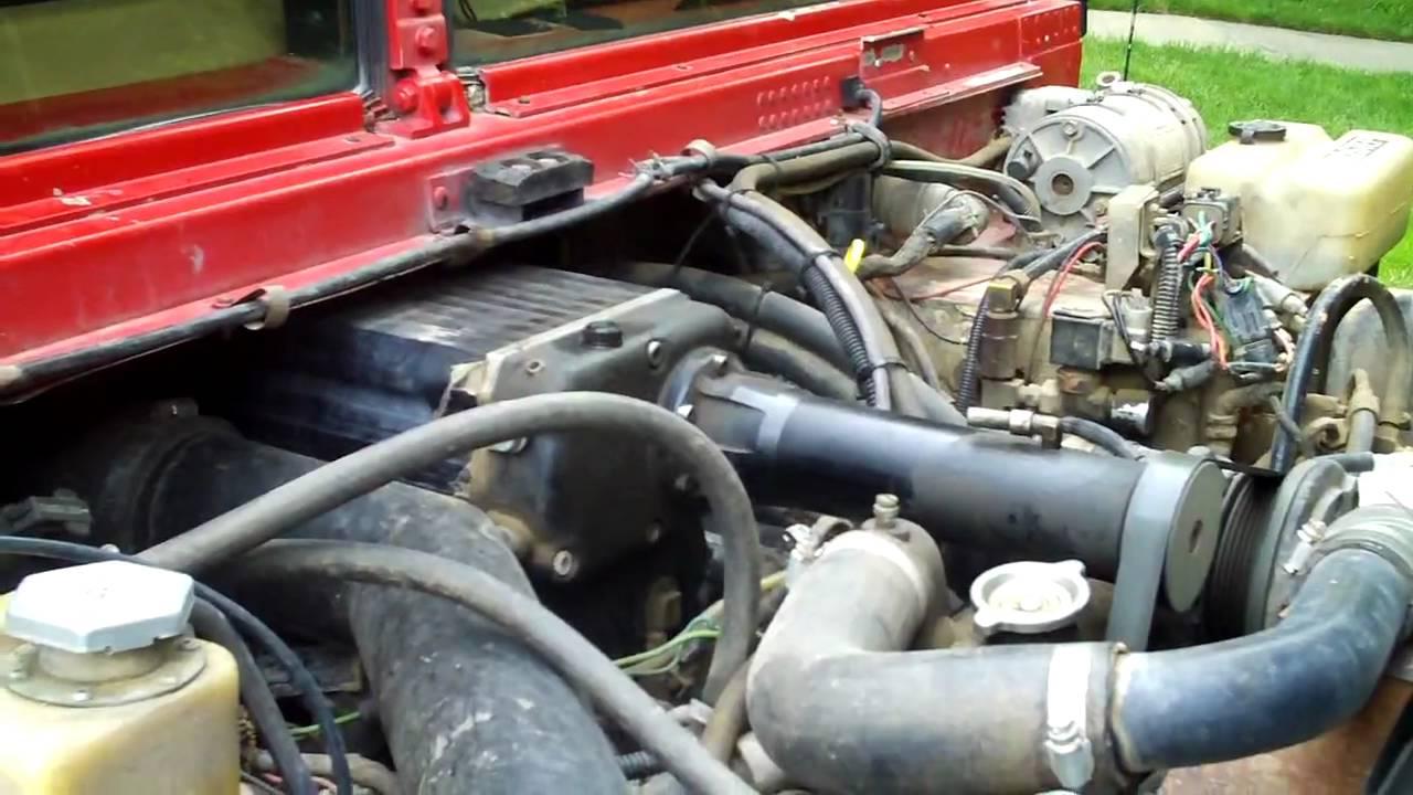 6 5 Diesel Blower : Supercharged diesel hummer youtube