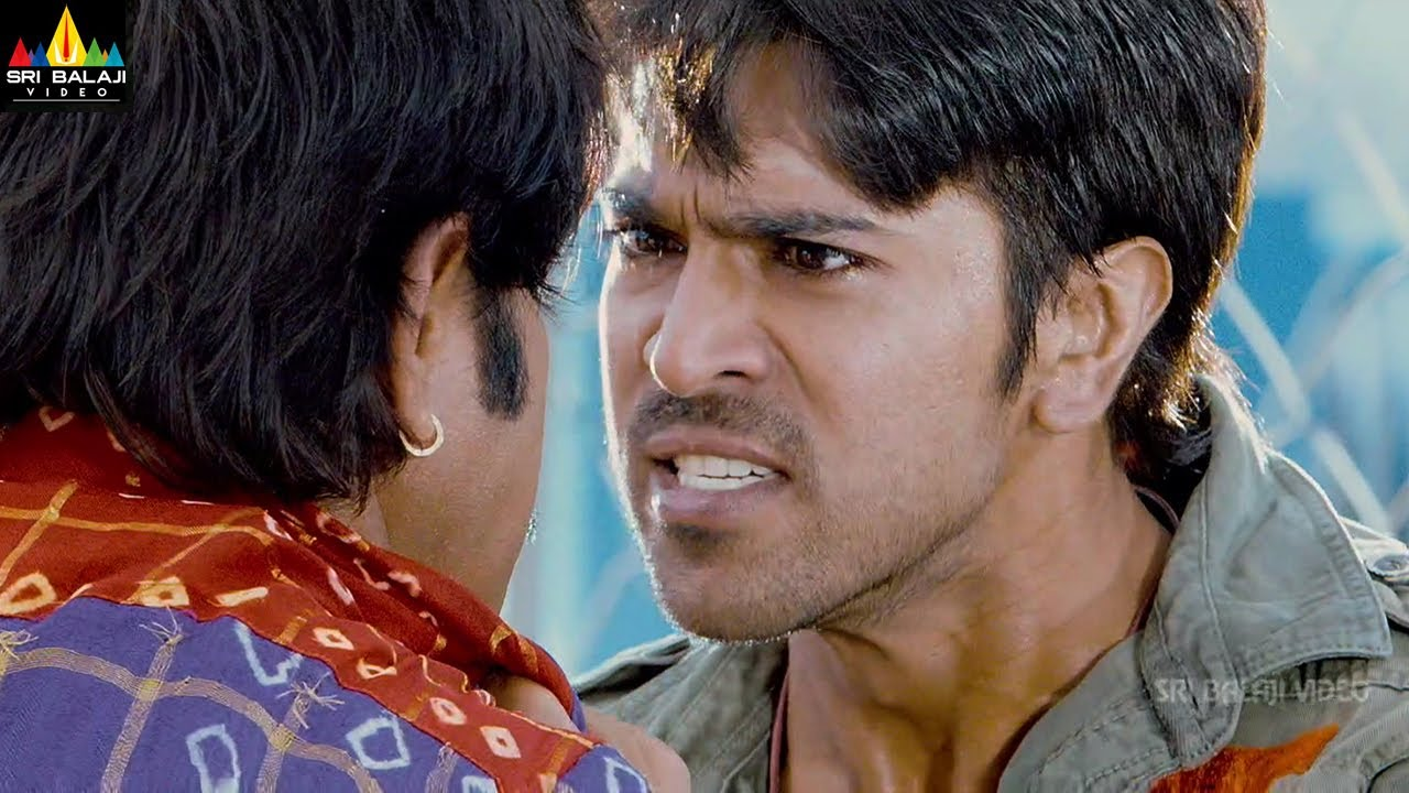 Download Latest Telugu Movie Scenes   Ram Charan & Srikanth Action   Govindudu Andarivadele@SriBalajiMovies