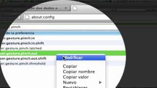Activar el zoom con dos dedos del trackpad en Firefox 13, 14, 15, 16 y 17 MAC