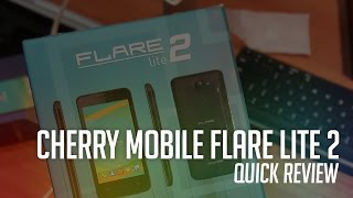 Cherry Mobile Flare Lite 2 Unboxing and Quick Review