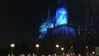 NEW Expecto Patronum Harry Potter Castle Show at Universal Studios Japan