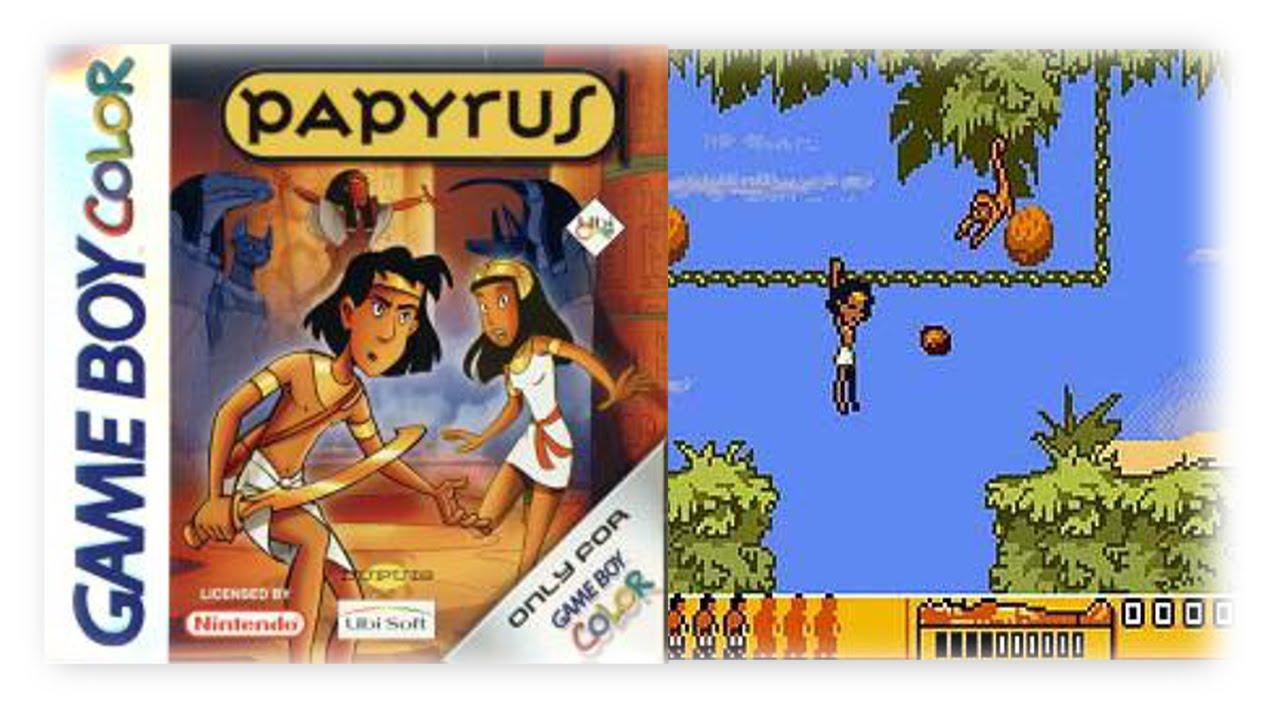 Game boy color kaufen - Papyrus Gbc 2000 Vom Comic Zu Einem Guten Platformer