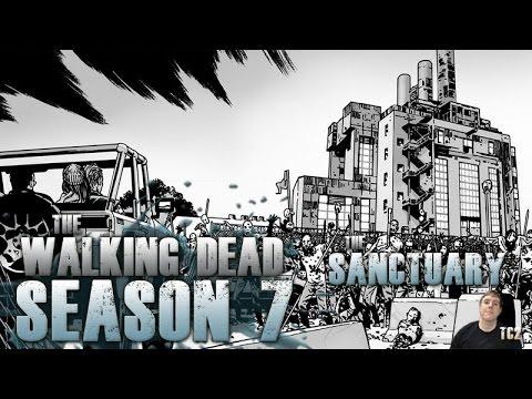 The Walking Dead Season 7 - The Sanctuary Explained!