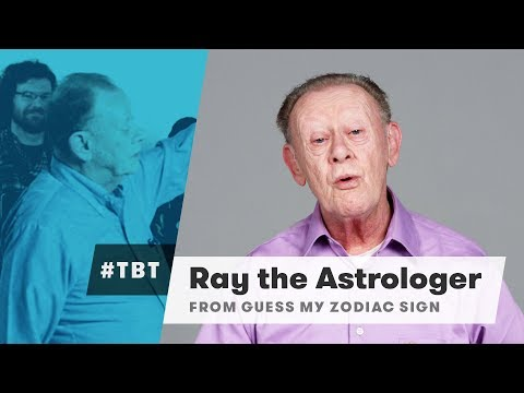 Ray the Astrologer from Guess My Zodiac Sign | #TBT | Cut