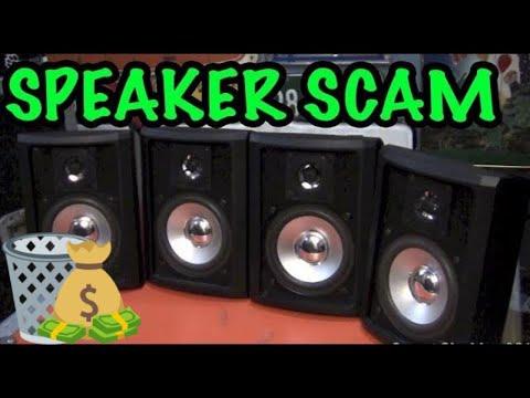 SPEAKER BLOWOUTS! - White Van Speaker Scam - Sutherland Technology