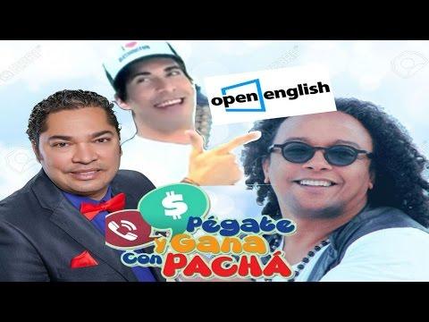 (You Need To Study English) El Pachá y Sergio Vargas hablando ingles