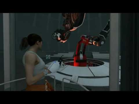 Portal 2 Chapter 5 – The Escape – Exclusive Third Person Walkthrough (PART 9)
