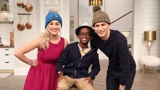 This 11-Year-Old is a Crochet Master! - Pickler & Ben