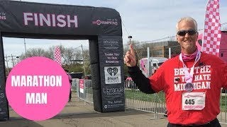Obese dad sheds an incredible 115lbs and runs first marathon