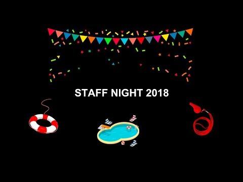my last staff night??? 8/08/2018