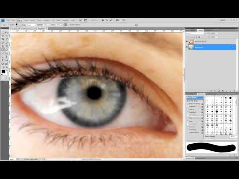 Photoshop Μάθημα 3 αλλαγη χρωματος ματιων