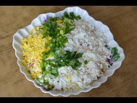 Сухарики салат