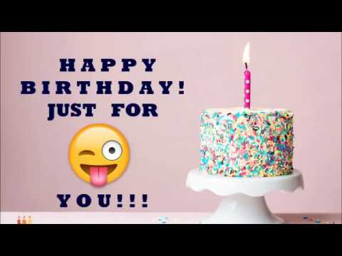 1 World S Most Funny Happy Birthday Wish Song Youtube