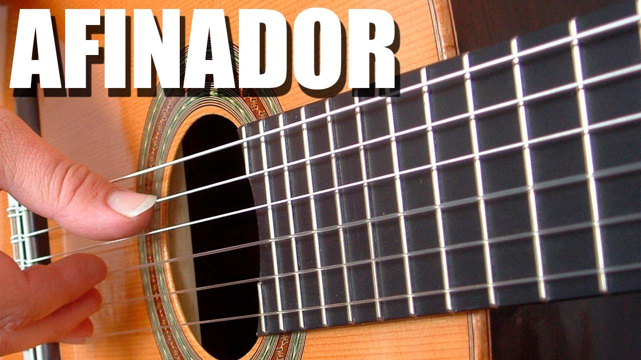 Afinador de guitarra criolla cl sica espa ola ac stica - Cuerda de nylon ...