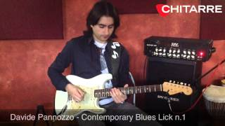 One Lick A Week: Contemporary Blues Lick 1 (Davide Pannozzo)