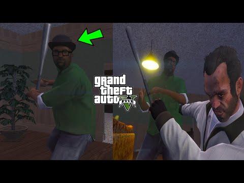 GTA 5 - I Found Big Smoke's Ghost! (CJ's House)
