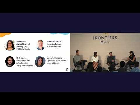 Frontiers by Slack 2017 - Using Modern Tools for Traditional Industries