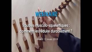 Les Troubles musculo-squelettiques : comment les réduire durablement ?