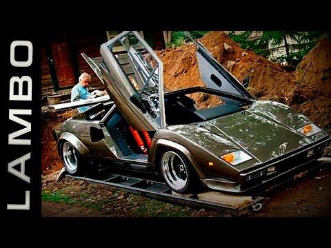 Мужик 17 лет делал копию Лаборгини! Причина вас шокирует! Самодельные автомобили в гараже.
