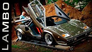 Мужик 17 лет делал копию Ламборгини! Причина вас шокирует! Самодельные автомобили в гараже.