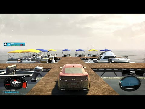 The Crew Beta - New York to Somewhere Down South - Solo Freeride + Level 5 Police Chase