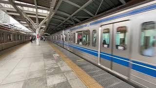 西武池袋線Fライナー快速急行 6000系 石神井公園駅発車
