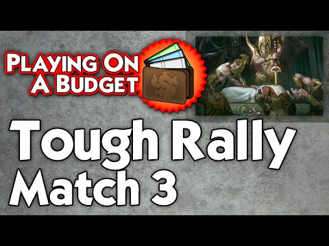 MTG Standard: Tough Rally vs Green/White Midrange - Playing on a Budget