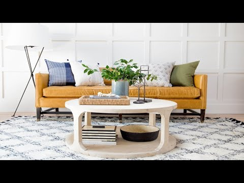 How To Style Round Coffee Table