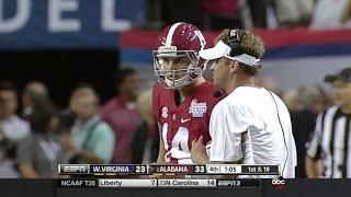 Jake Coker's Alabama Debut