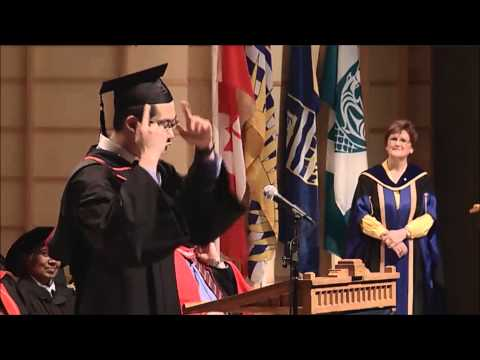 UBC Engineering Convocation Valedictorian Speech 2014 (We are the GIFTS of UBC)
