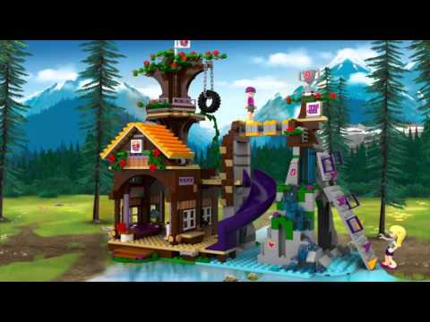 Adventure Camp: Tree House - LEGO Friends - 41122 - Product Animation