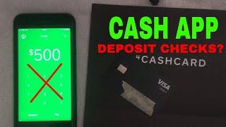 ✅ Can You Deposit Checks Into Cash App? 🔴