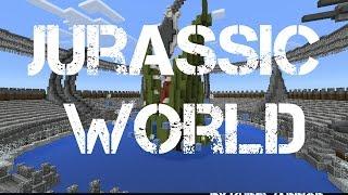 Jurassic World Minecraft Pocket Edition (Trailer)