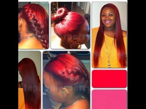 Celebrity style sew in weave extension youtube pmusecretfo Gallery