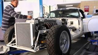 1964 Jaguar Lightweight E-Type Replica - First Start