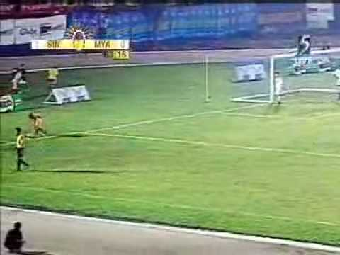 23rd sea games - Myanmar Vs Singapore (2nd half)