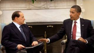 President Obama Meets With Italian Prime Minister Berlusconi