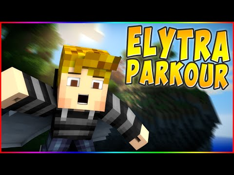 EPIC FLYING / TELEPORTING PARKOUR! Minecraft ` Elytra Parkour