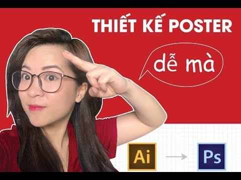 thiet ke poster bang photoshop