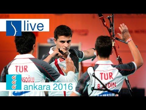 Live: Recurve Junior Finals |Ankara 2016