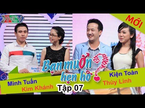 WANNA DATE - Ep. 07 | Kiện Toàn - Thùy Linh | Minh Tuấn - Kim Khánh | 22-Dec-13