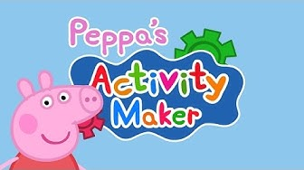 Peppa's Activity Maker - Best App For Kids - iPhone/iPad/iPod Touch
