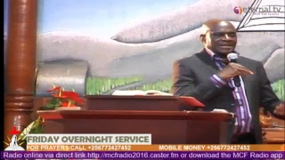 Friday Overnight Service - Live (12th-October-2018) with Ps Tom Mugerwa