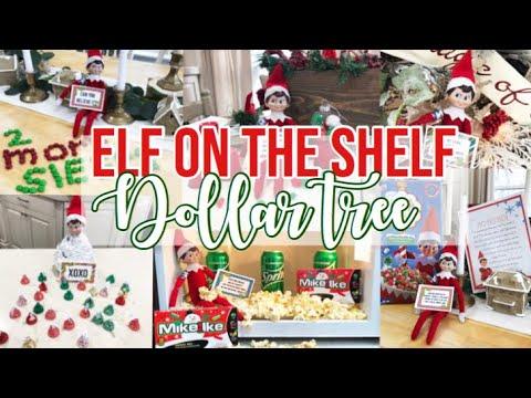 ELF ON THE SHELF DOLLAR TREE IDEAS + TEMPLATES