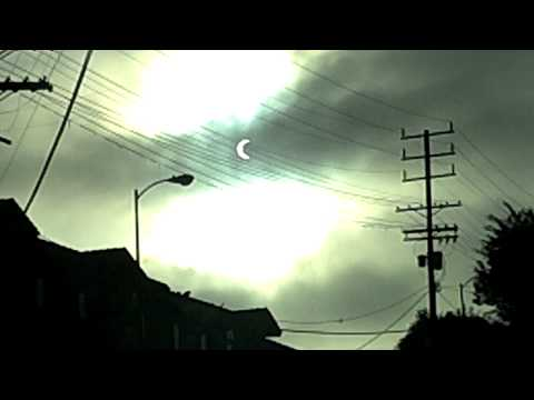 2012 Solar Eclipse seen from West Los Angeles